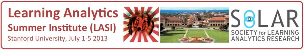 Stanford Learning Analytics Summer Institute