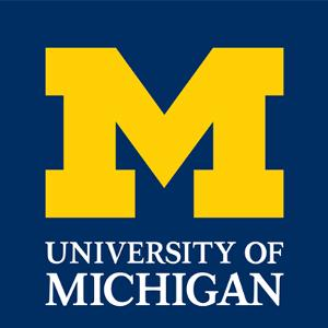 Logo for the University of Michigan